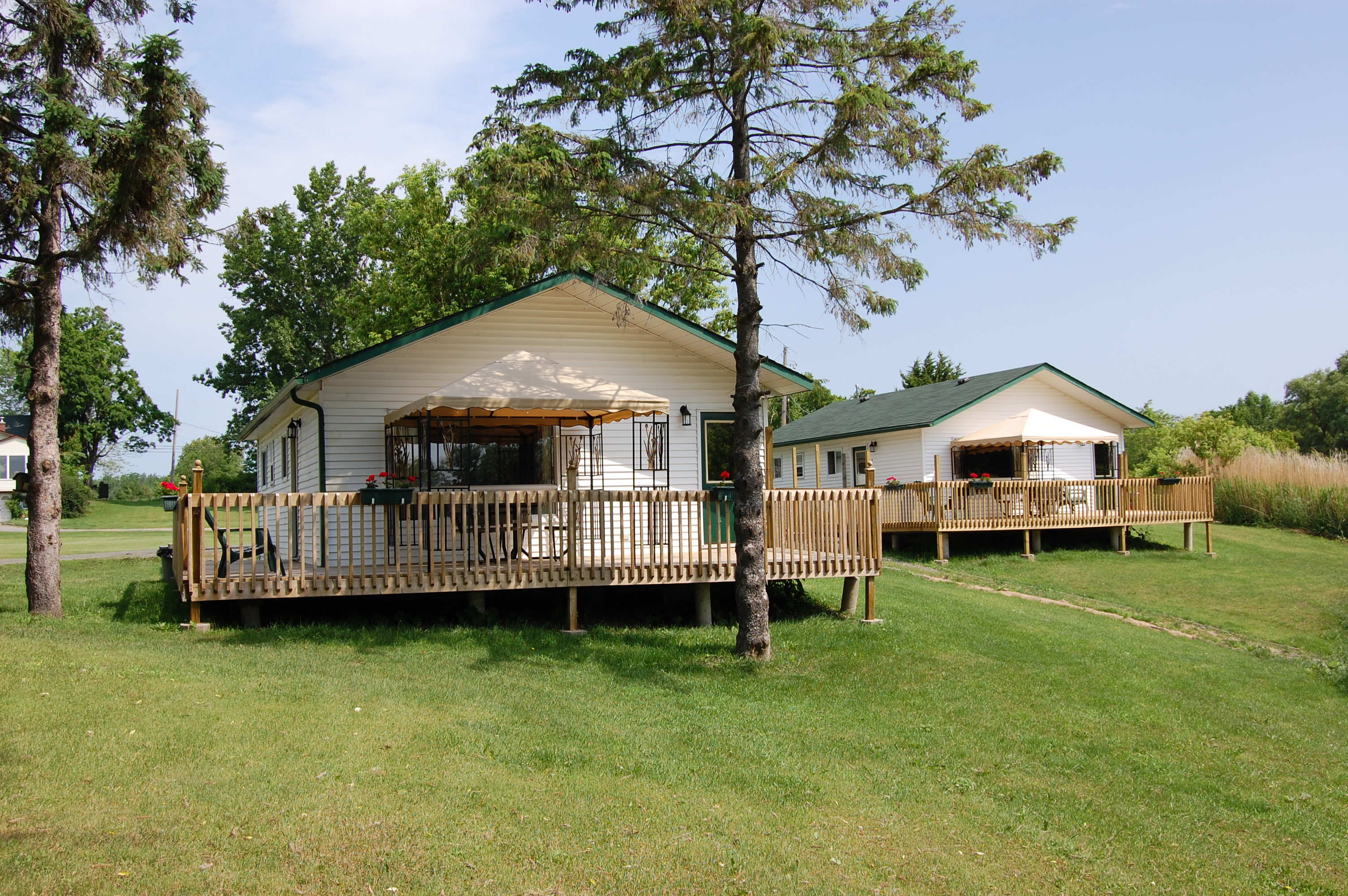 Spencer 39 s 1000 islands cottages boat rentals 1000 islands fishing charters - Cottage image ...